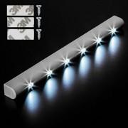 tectake 2 LED-ljuslist med rörelsesensor av tectake