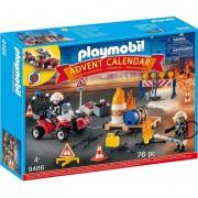 Calendar Craciun Operatiunea Pompierilor Playmobil