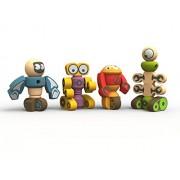 BeginAgain Tinker Totter Robots Build Your Own Robot Kit & Robot Building Game