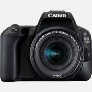 Canon EOS 200D noir + objectif EF-S 18-55mm f/4-5.6 IS STM noir