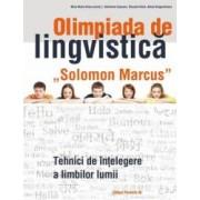 Olimpiada de lingvistica Solomon Marcus. Tehnici de intelegere a limbilor lumii