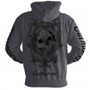 sweat-shirt avec capuche pour hommes Machine Head - Clock GREY - NUCLEAR BLAST - 2687_HZ