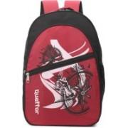 Quaffor fefegnf/587 Waterproof Backpack(Red, 22 L)
