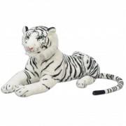 vidaXL 80164 Tiger Toy Plush White XXL - Untranslated