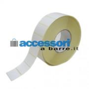 Etichette adesive in carta Vellum 50 x 30 mm per stampanti Industriali a trasferimento termico (ribbon necessario)