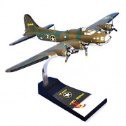 Mastercraft Collection Boeing B-17F Flying Fortress Red Gremlin World War II Bomber USAAF Army Air Forces Royal Air Force Plane Aircraft Airplane Model Scale:1/62