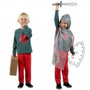 DGUIZ Super kit vêt. déguisement Chevalier