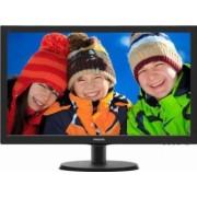 Monitor LED 21.5 Philips 223V5LHSB2 Full HD 5ms Negru HDMI