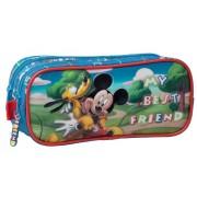 Penar 23 cm, 2 Compartimente Mickey si Pluto Friends