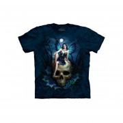 Playera 4d - Caballero -3329 Skull Fairy