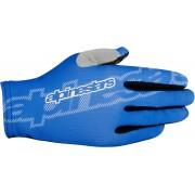 Alpinestars F-Lite Cyklistické rukavice M Modrá