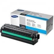 Тонер касета - Samsung CLT-C506L Cyan Toner / High Yield - CLT-C506L/ELS
