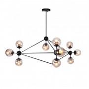 Lámpara de diseño estilo chandelier mencia 10 luces casa de hoy