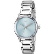 Fastrack Monochrome Analog Blue Dial Womens Watch - 6078SM03