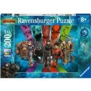 Ravensburger Pussel XXL 200 Bitar Dragons 3