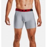 Under Armour Herenboxer UA Tech™ 15 cm Boxerjock® – 2 stuks - Mens - Gray - Grootte: Medium