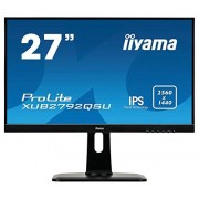 """IIYAMA xub2792qsu-B1/27 """" IPS LED 2560 x 1440 Black Desktop monitor 69 cm (27 inch) LED Zwart"""
