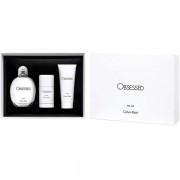 Calvin Klein Obsessed For Men Комплект (EDT 125ml + Deo Stick 75ml + SG 100ml) за Мъже