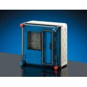 Hensel fogyasztásmérő szekrény, 1 fázis, 300x300x185mm (MI-72203)