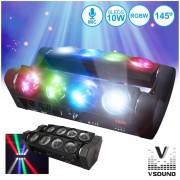 Vsound Projector LED PAR VSPROJ810RGBW
