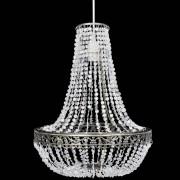 vidaXL Lampă de tavan cu cristale 36,5 x 46 cm