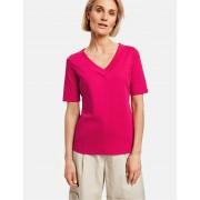 Weber GERRY WEBER T-Shirt 1/2 Arm »1/2 Arm Shirt mit V-Ausschnitt organic cotton«