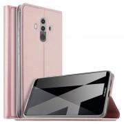 Flip Case Fina para Huawei Mate 10 Pro - Rosa-Dourado