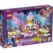 Lego set de construcción lego friends competencia de repostería 41393
