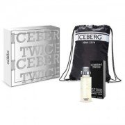 Iceberg Twice Homme: Eau de Toilette 125 ml + String Bag