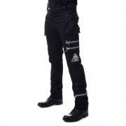 Muške hlače POIZEN INDUSTRIES - JAXON - BLACK - POI852
