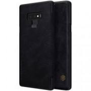 Husa Piele Samsung Note 9 Flip Cover Nillkin - Negru