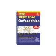 riachristiecollections Philips Street Atlas Oxfordshire 5ED Spiral New Edition by Philips Philips