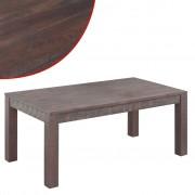 vidaXL Soffbord 105x55x45 cm massivt akaciaträ ljusbrun