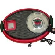 GOCART Electronic Fajita Maker With BBQ Grill Round Electric Pan