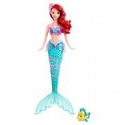 Mattel X9396 - Disney Princess Ariel Sirena Da Favola