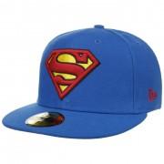New Era Cappellino 59Fifty Superman Blu by New Era in blu, Gr. 63 cm