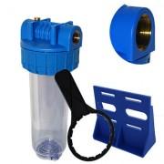 DIPROCLEAN Porte-filtre transparent 7 Pouces Irrigation - Entrée 1 Pouce