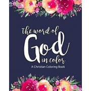 A Christian Coloring Book: The Word of God in Color: Scripture Coloring Book for Adults & Teens (Bible Verse Coloring) to Help You Relax, Practic, Paperback/Kingdom Bytes