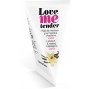 Love to Love Olio da massaggio edibile Love to Love Love Me Tender - Vaniglia 10ml