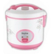 Skyline VT-9080 Rice Cooker Electric Rice Cooker(1 L, White)