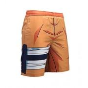 Anime DIY Anime Pantalones Cortos de Secado rápido para Hombre, diseño de Naruto 3D, Naruto, XL/W 32