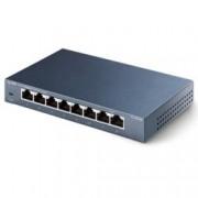 Суич TP-Link TL - SG108, 10/100/1000Mbps, 8x Ethernet порта RJ45