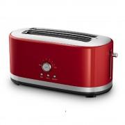 tostador eléctrico kitchenaid kmt4116er 4 rebanadas empire red