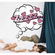 TenStickers Muurstickers kinderkamer Zzzzz slaapwolkje