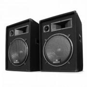 Malone 2x PW-1522 Paar 3-Wege Box Lautsprecher 38cm 1600W