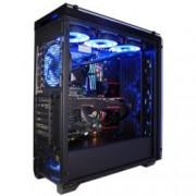 Кутия Xigmatek PROSPER RGB, E-ATX / ATX / Mini / ITX, Micro ATX, 4x USB 3.0, Liquid Cooling Compatible, черна, без захранване