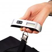 ER 50g / 50Kg 0,1 libras / 110 libras Electrónico Digital equipaje portátil Hanging Báscula.