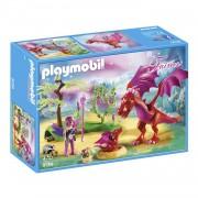 Playmobil Fairies - Drakenhoeder met rode draken 9134