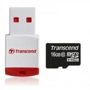 Carte microsdhc transcend classe 10 16gb + lecteur usb offert compatible Wiko Rainbow 4g