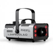 Ibiza LSM900LED Máquina de niebla 900 W 1 Litro DMX RGB-LED